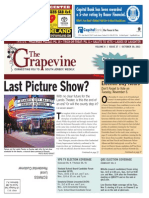 The Grapevine, October 31, 2013