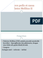 Gangren pedis et causa Diabetes Mellitus II.pptx