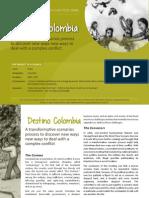 Scenarios Case Study - Destino Colombia