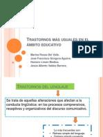 Equipo 1 - TRASTORNOS MÁS USUALES EN EL ÁMBITO EDUCATIVO