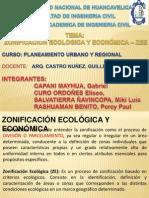 ZONIFICACION ECONOMICA ECOLOGICA