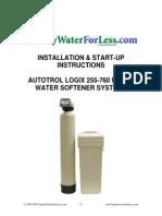 Instalacion Descalcificador AUTOTROL LOGIX 255-760 METER