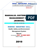09 - ROMVEC HSE Management System Manual.doc