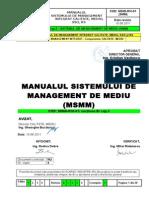 05 SECTIUNEA B1 cap.5 - MANUALUL SISTEMULUI de Management Mediu - cap 5 din MSMI -.doc