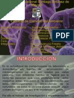 Coliformes y Estreptococos en El Centro de Computo