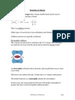 Alkenes PDF