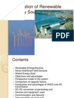 Integration of Renewable Energy Sources