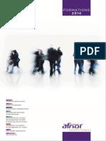 Catalogue Afnor 2014