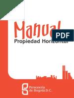 Manual de Propiedad Horizontal