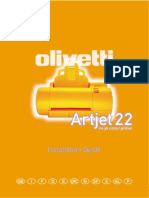 Manual Olivetti Artjet 22 e