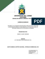 Informe Final Pasantia Oneida