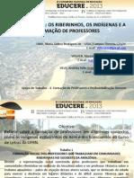 Apresentação Educere 2013 Maristela