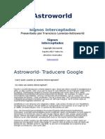 Semne interceptate -Astroworld  esp.doc