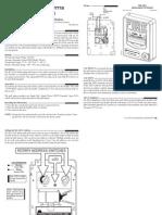 Manual Instalacion de Est. Manual Bg12lx