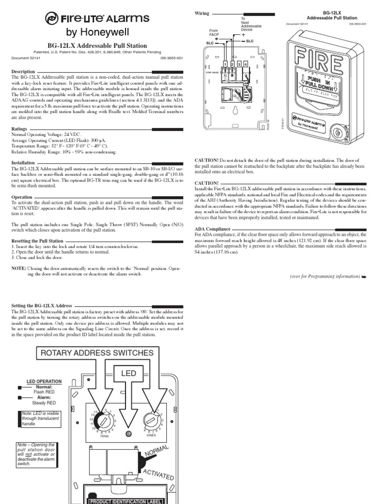 Modern How To Wire A Fire Alarm Pull Station Picture Collection ...