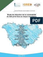 Etude de la vulnérabilité du bâti privé face au risque inondation