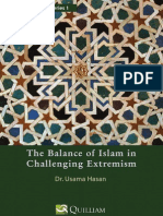 The balance of Islam in challenging extremism