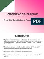 Aula 3 Carboidratos Em Alimentos