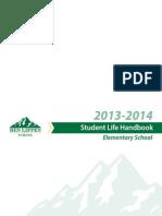 Elementary School Student Life Handbook