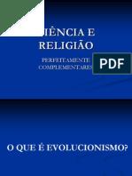 Palestra de CIÊNCIA E RELIGIÃO