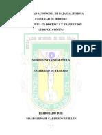 TEXTO COMPLETO DE MORFOSINTAXIS ESPAÑOLA bb