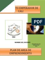 Plan de Es Estudios Emprendimiento