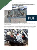 Manual reparación bomba de agua motor ap 2.0
