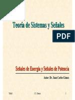 Senales Potencia Energia