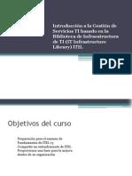 Curso ITIL Maestria Sesión1