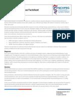 Mitochondrial Disease Factsheet