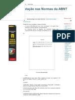 Formatação nas Normas da ABNT_ Referências