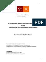 OS DISCURSOS E AS PRÁTICAS NO ENSINO E APRENDIZAGEM DA HISTÓRIA.proposta