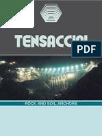 TENSACCIAI - Rock and soil anchors