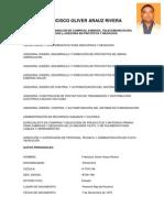 Curriculum Vitae Francisco 2013-Codigo de Barra