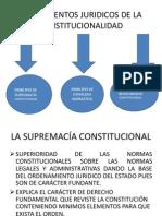 2.Supremacia Principio Constitucionalidad