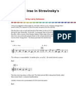 The Dies Irae in Stravinsky