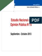 EncuestaCEP Sep Oct2013 Completa