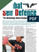 CSD Methodology Behind Handgun Disarming-Dr.Yuree