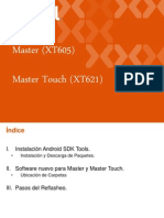 Reflash Para Equipos Master y Master Touch S&R