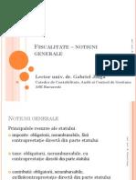 Fiscalitate – notiuni generale