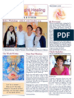 Rose of Light Healing Newsletter November 2013