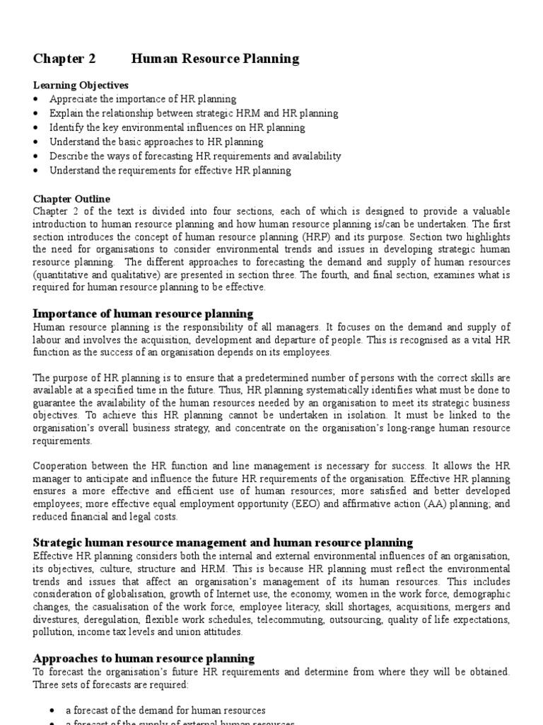 Human Resource Planning Human Resources 28k Views