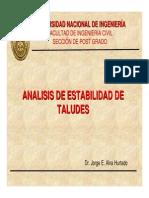 3. Análisis de Estabilidad de Taludes