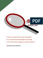 'SPY' - Computer Forensics For Anyone