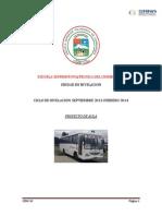 El Bus Como Transporte en La Espoch