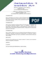 Ley de Colegiacion Profesional Obligatoria