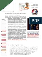Letter to Rex Tillerson 13-10-29 Tide is Turning