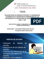 Presentacion Sustentacion TEsis_Probabilidad Final (2013!10!27)