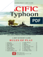 Pacific Typhoon Rules
