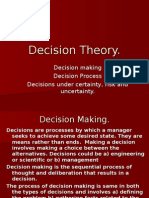 Ppt on Decision Threory